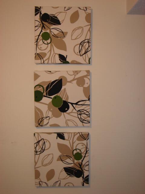 IKEA LACK side table wall art