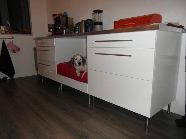 Ikea Glass Cabinet Fabrikor ~ Faktum kitchen dog bed  IKEA Hackers  IKEA Hackers