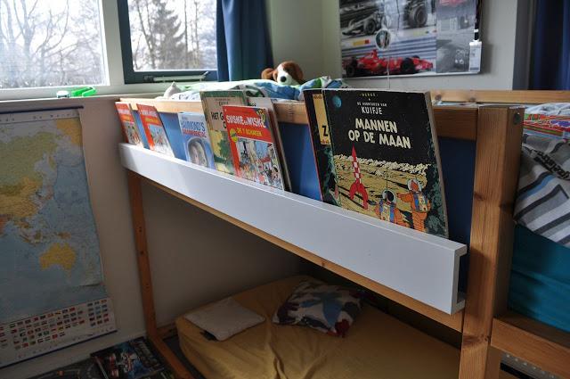 High Sleeper book shelf