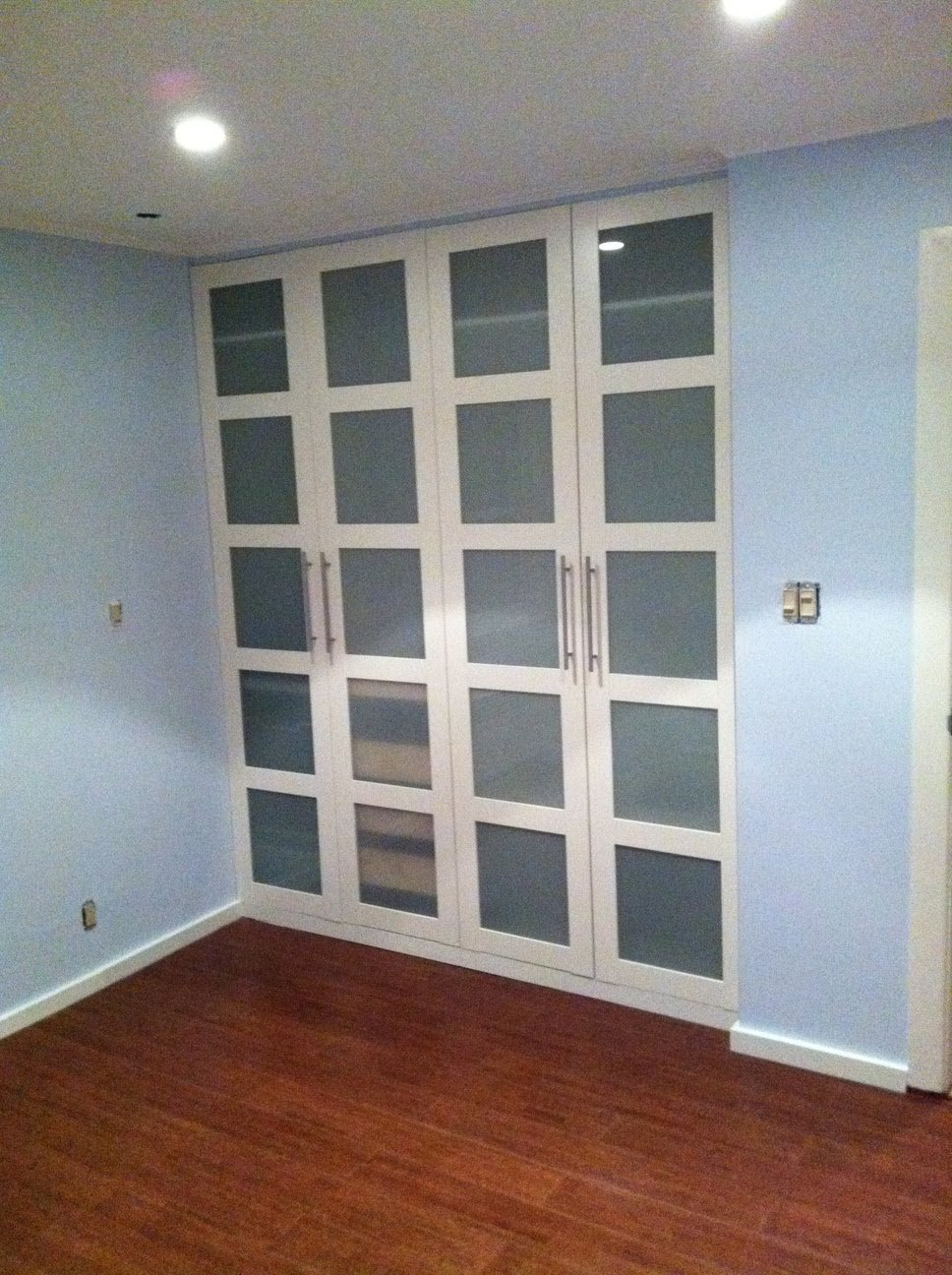 Pax Wardrobe Turned Custom Reach In Closets