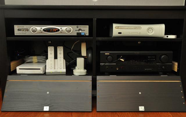 Hemnes Tv Stand Dimensions : Custom HEMNES Entertainment Center  IKEA Hackers  IKEA Hackers