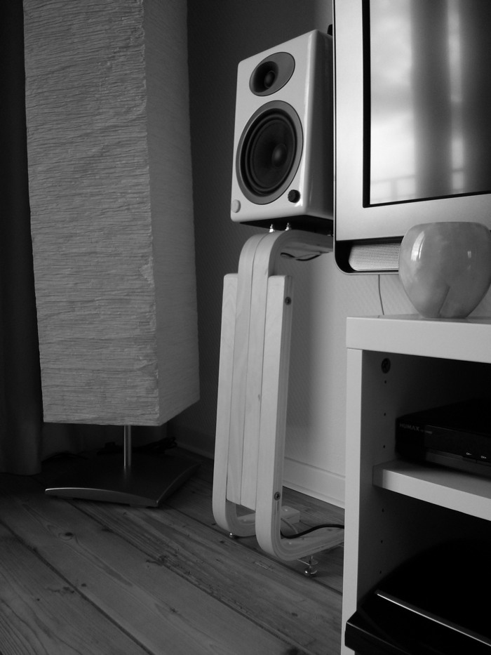 Frosta Speaker Stands for Bookshelf Speakers - IKEA Hackers - IKEA Hackers