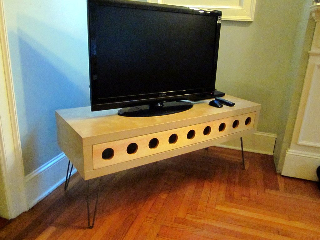 My Space Age TV Table  IKEA Hackers  IKEA Hackers -> Table Television