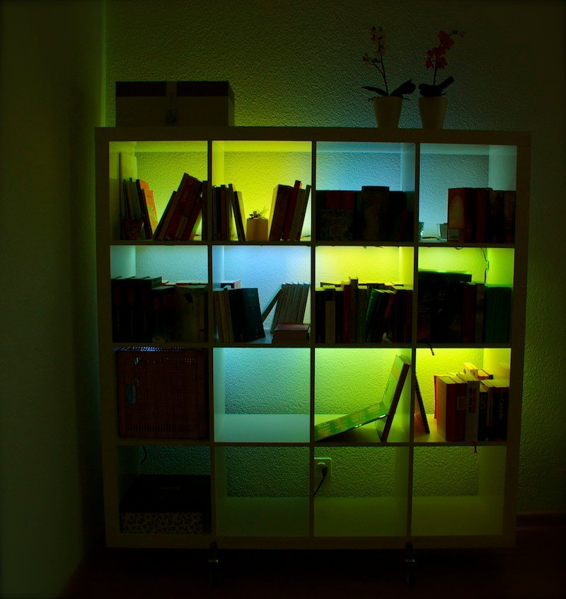 ExpeditInvaders: Light up your Expedit - IKEA Hackers - IKEA Hackers