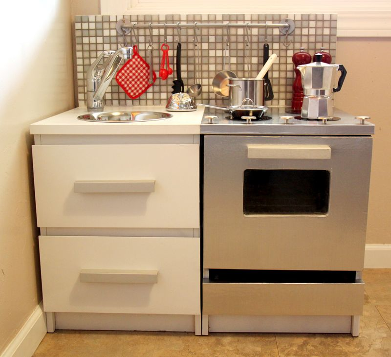 Malmtastic Play Kitchen - IKEA Hackers