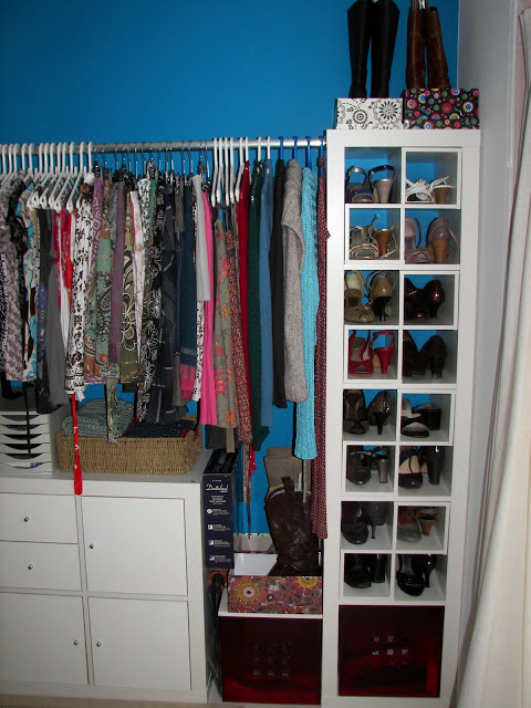 Expedit walk in closet