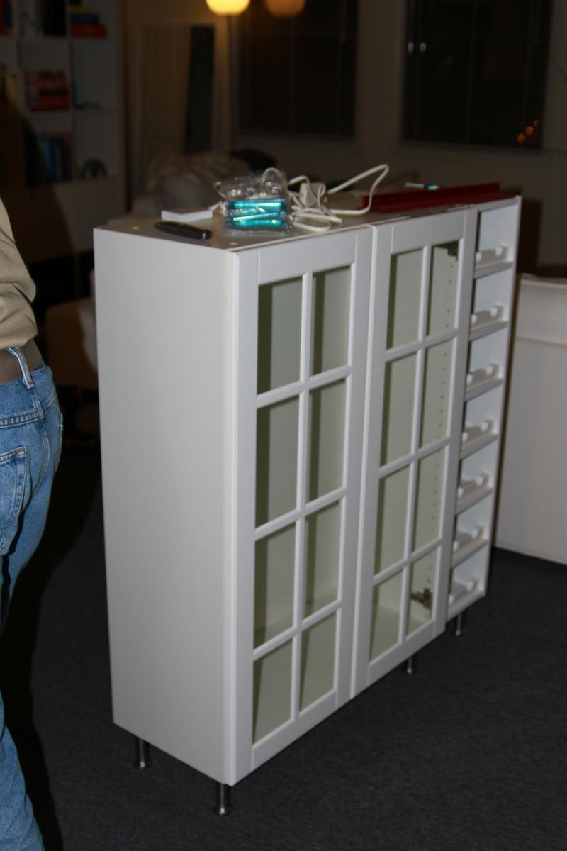 Bar Cabinet from wall cabinets - IKEA Hackers - IKEA Hackers