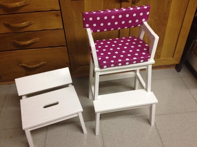 BEKVAM Step Stool to Child's Seat
