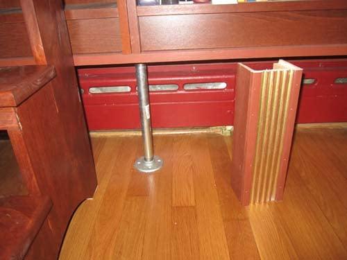 Baseboard Heat Kitchen Cabinets Over Baseboard Heat