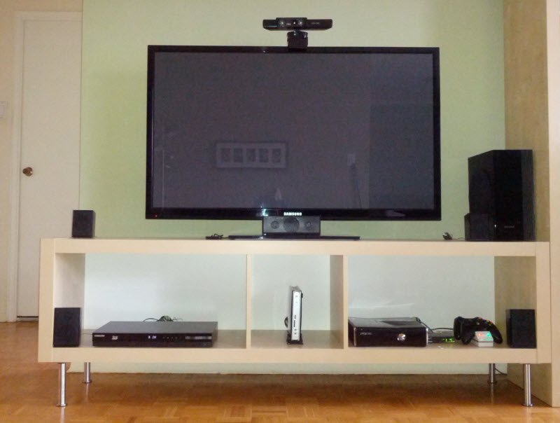 Meuble Tv Ikea Hacker : Ocd-friendly Expedit Tv Bench – Ikea Hackers – Ikea Hackers