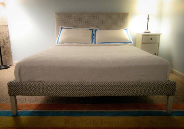 Upholstered Fjellse bed