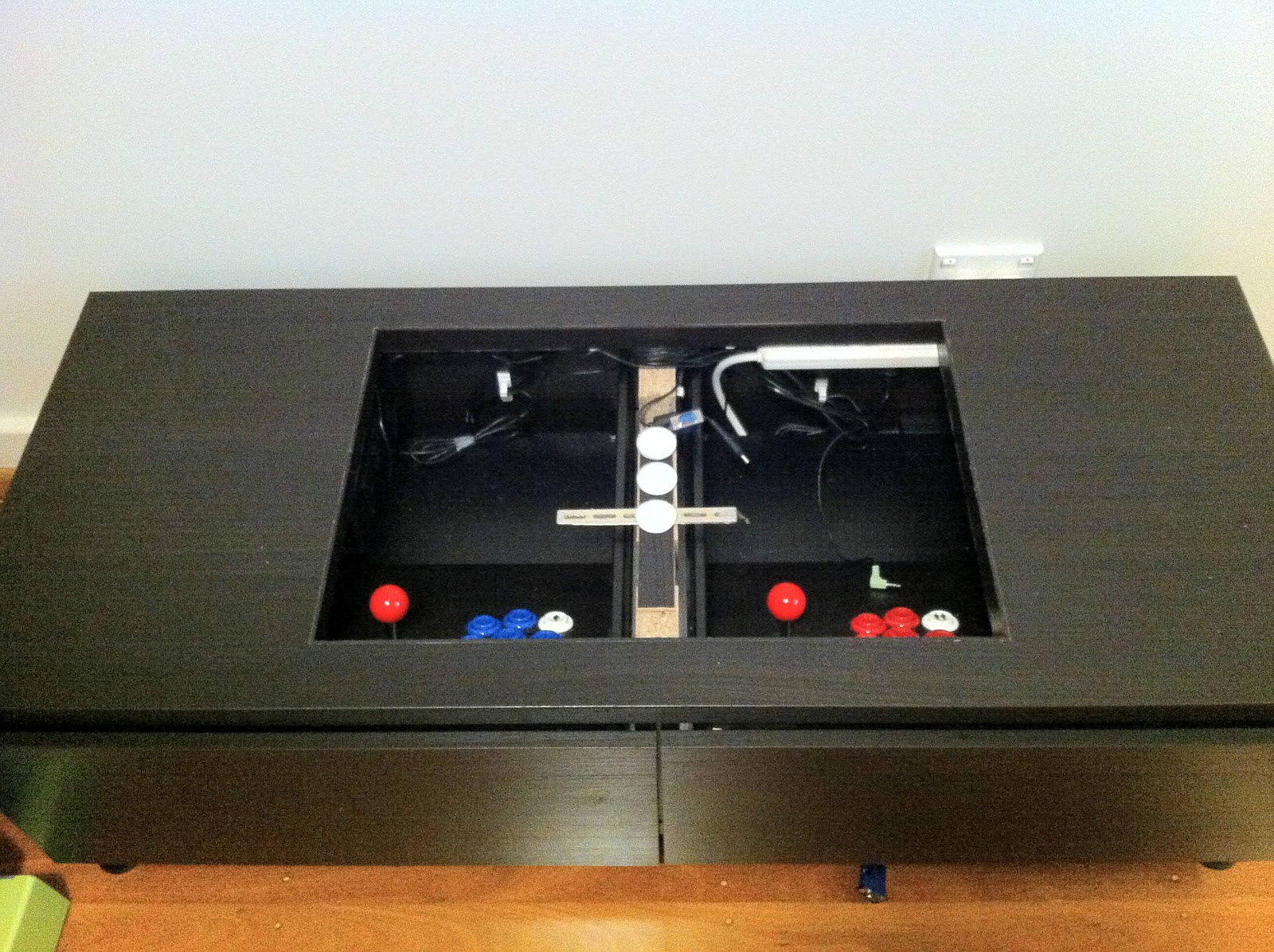 Diy Arcade Machine Coffee Table Ikea Hackers