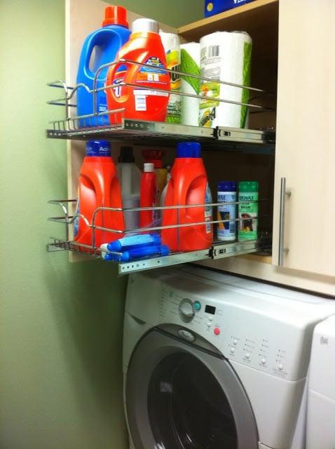 laundry detergent cabinet