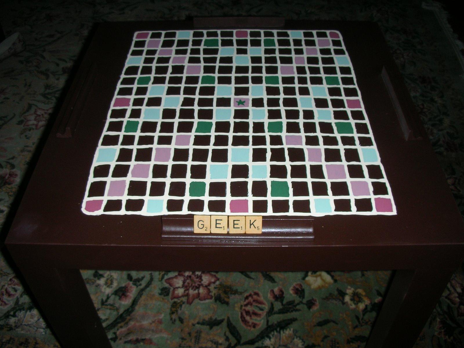 Incredible Scrabble Table Ikea Hackers Uwap Interior Chair Design Uwaporg