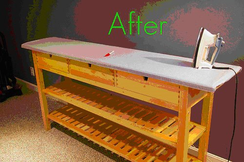 Ironing Table Designs : Ironing Table Designs : IKEA Ironing Board Table