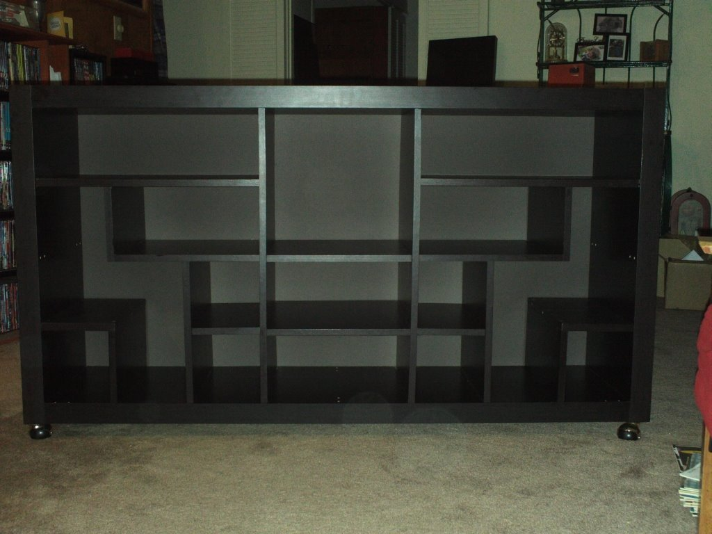 Ikea Mandal Headboard Review ~ Ikea Expedit Asian inspired entertainment center  IKEA Hackers  IKEA