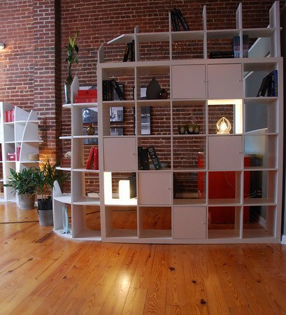 Expedit storage and room divider from HGTV guy - IKEA Hackers