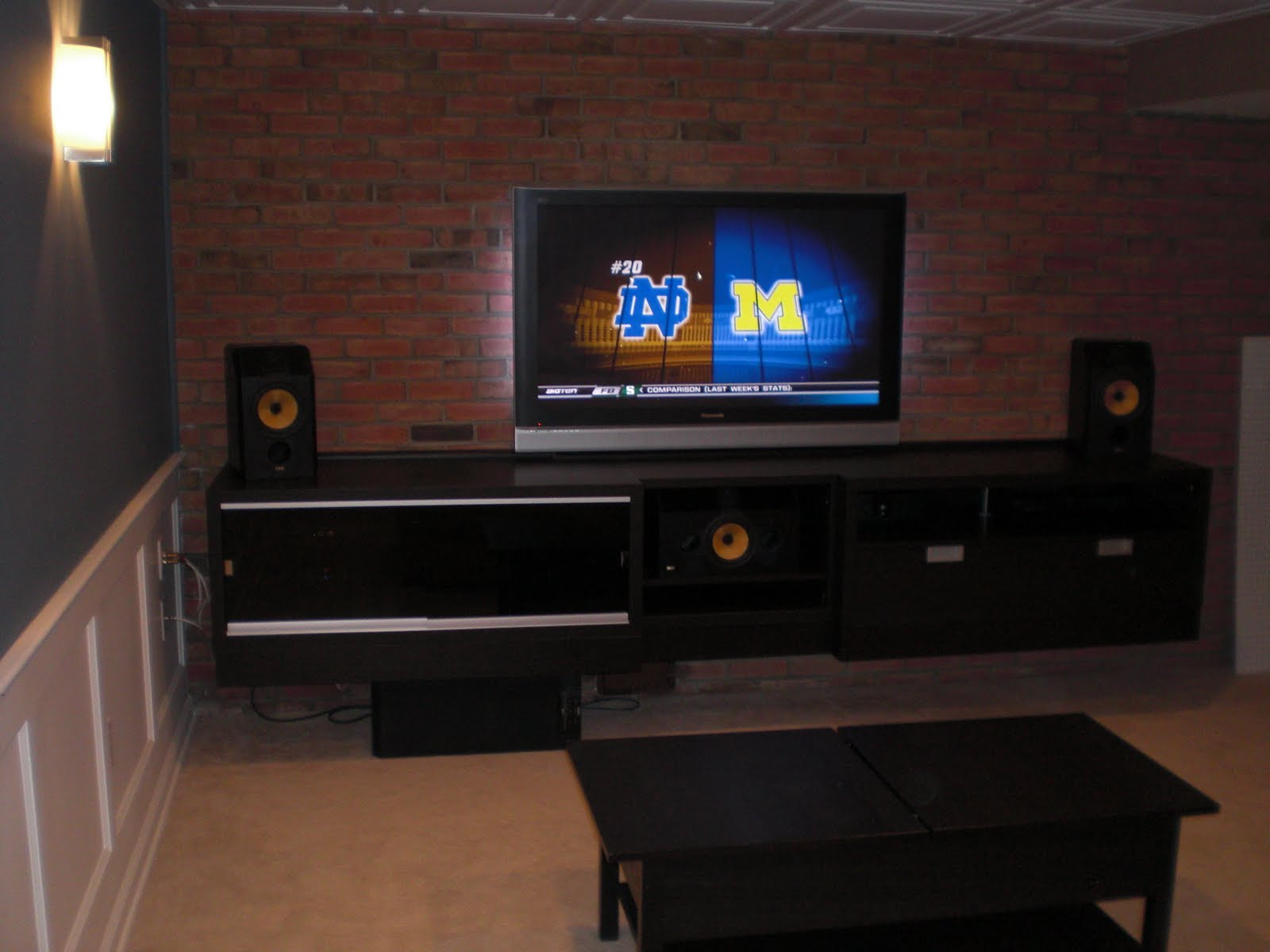 Built In Besta Entertainment Centre