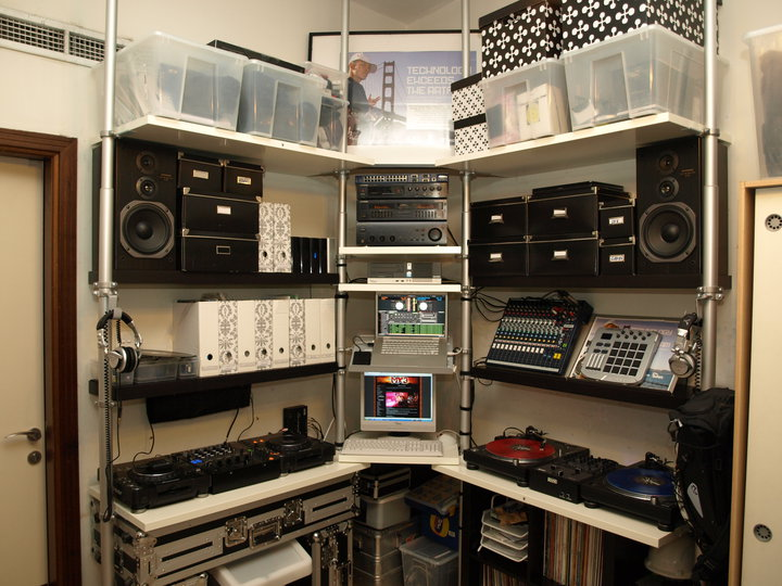 DJ Stolmen Studio IKEA Hackers