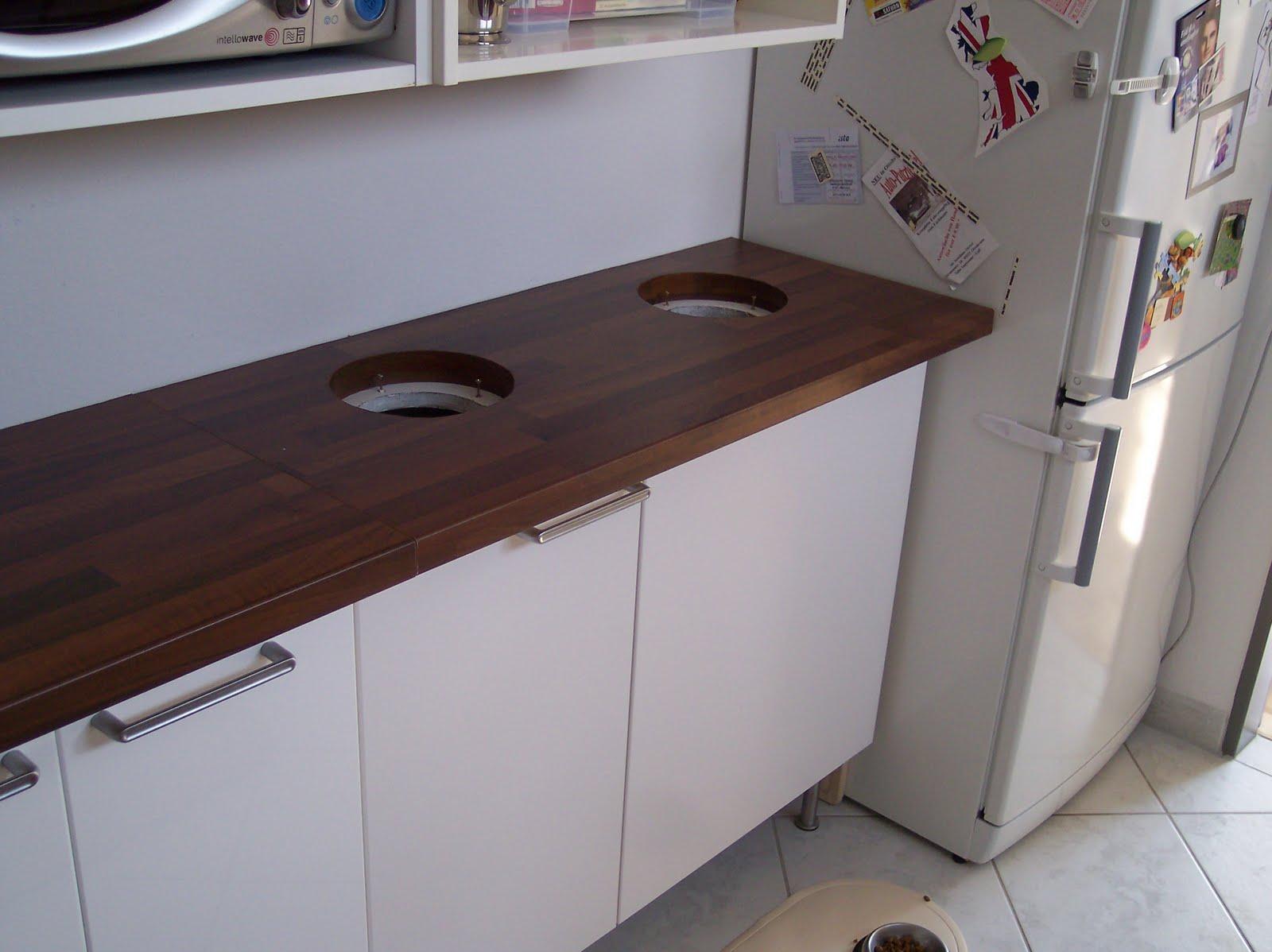 Uncategorized Kitchen Cabinet Recycle Bins recycling bin solution ikea hackers solution