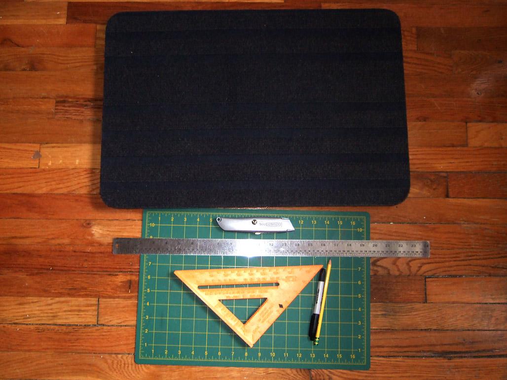 Borris Mat Modular Carpet Squares