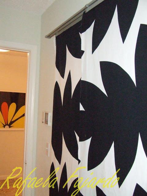 Ikea kvartal door - Sliding Panel Curtain Door Ikea Hackers Ikea Hackers