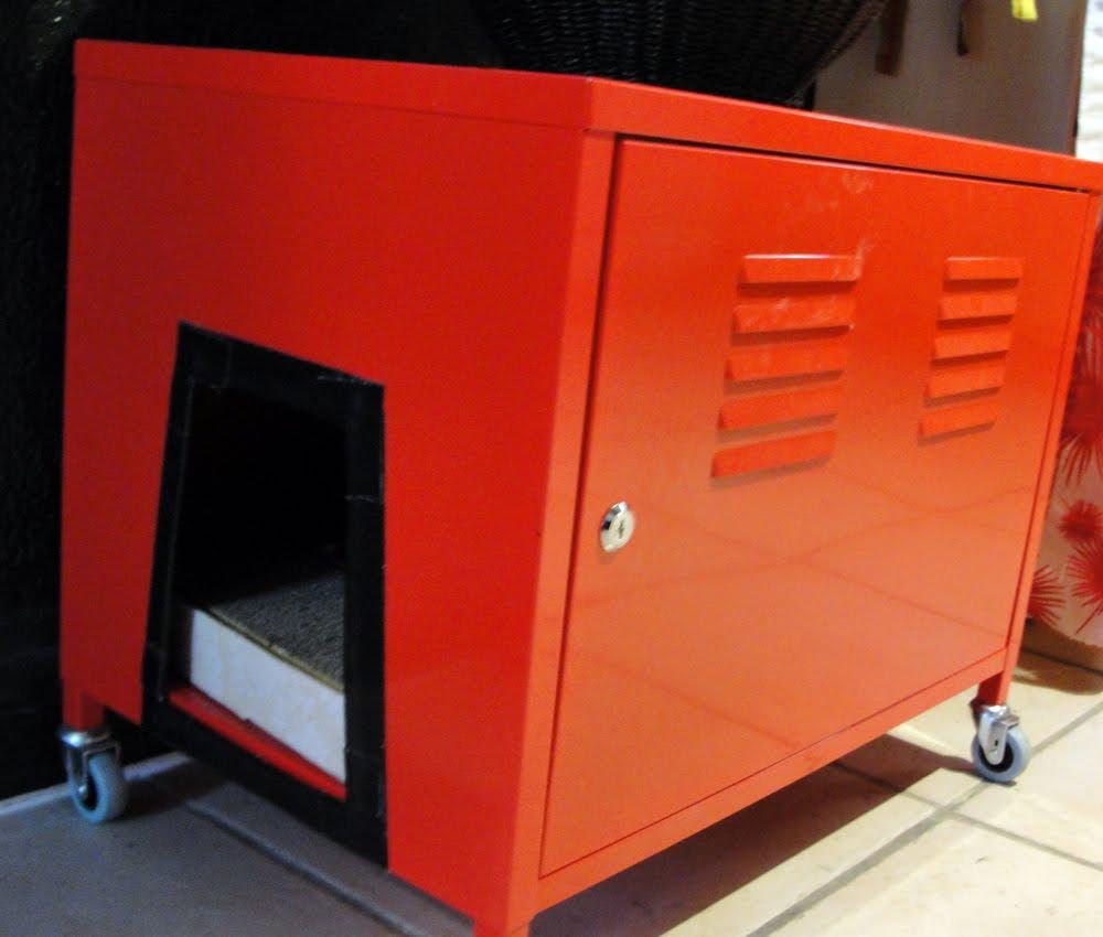 cute catbox finally!  IKEA Hackers  IKEA Hackers