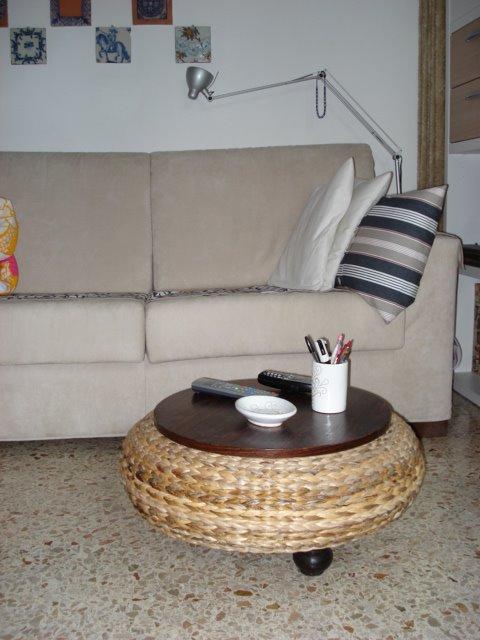 She Transformed It Into An Oriental Style Coffee Table Antonella