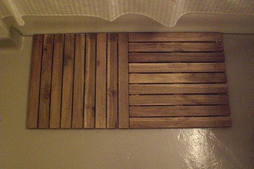 See More Of Eleazar S Platta Wooden Shower Mat
