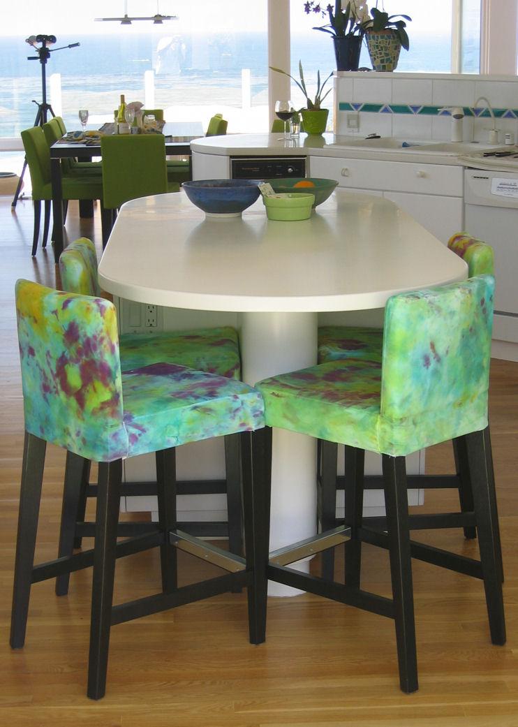 Henriksdal gets a dye job - Henriksdal Gets A Dye Job - IKEA Hackers - IKEA - Henriksdal Bar Stool Cover Show Home Design
