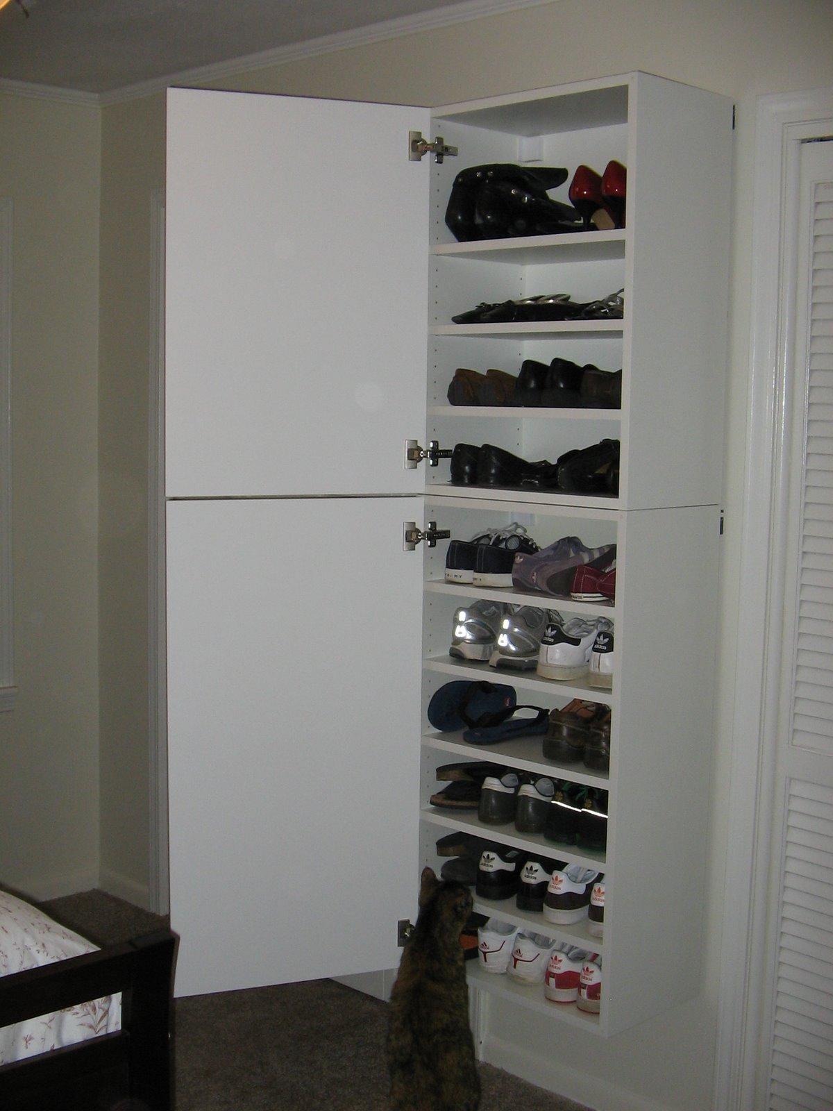 Emily S Gorgeous Shoe Storage