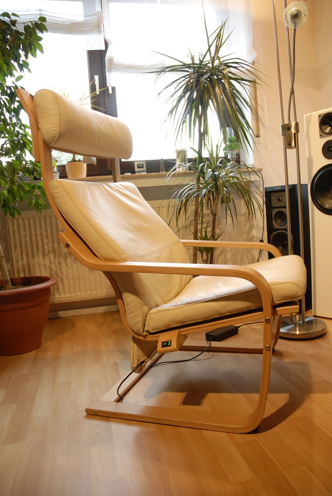 Ikea leather chair brown - Get Into The Hot Seat