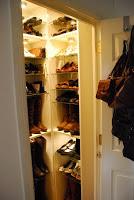 shoe room