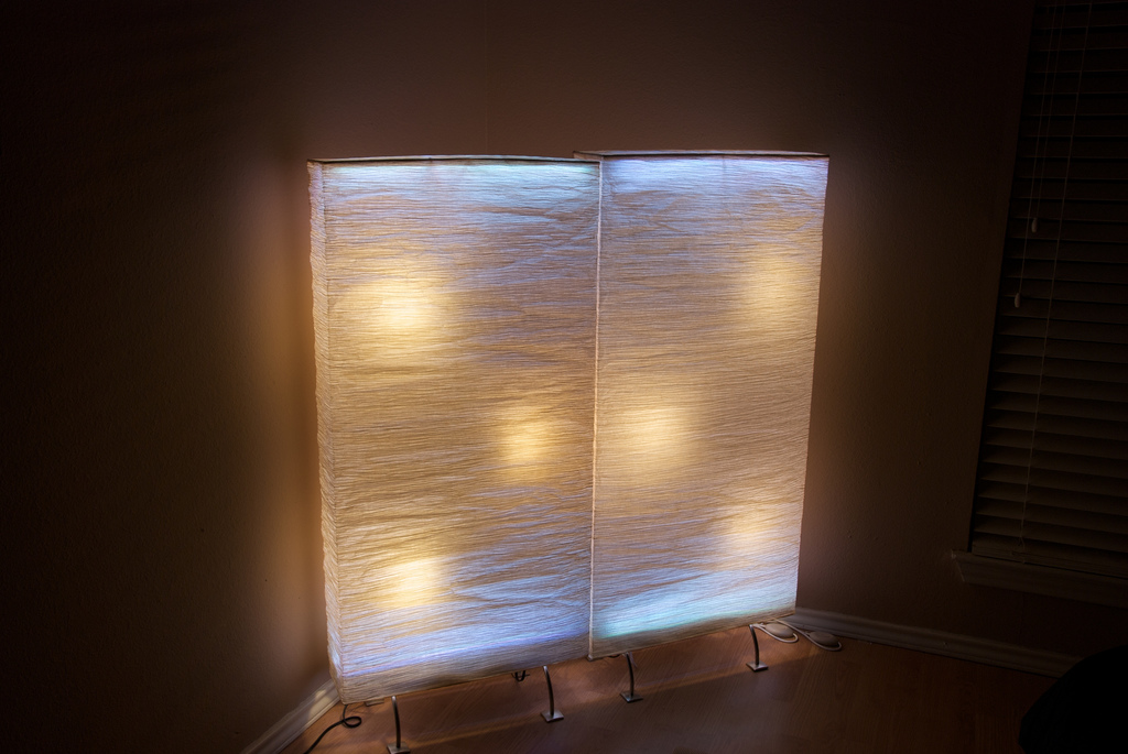 Diy bathroom wall art - Ide Your Room With Lights This One Is From Xedmada