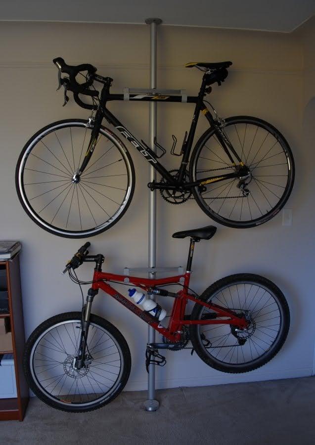 Stolmen Bike Stand Mod For Carpet Flooring IKEA Hackers