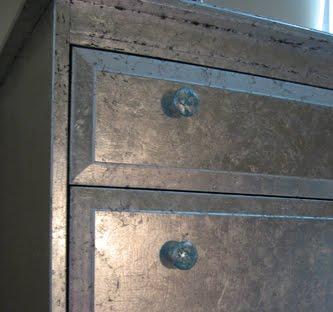 Silver Leaf Dresser Ikea Hackers