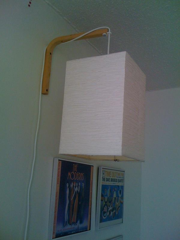 Hanging Wall Lamps hanging wall light - ikea hackers - ikea hackers