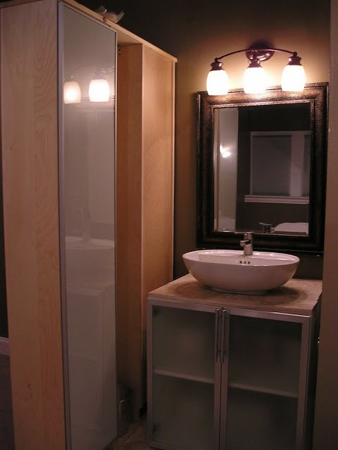 Very Vanity Vessel Hack Aka Vanity With Vessel Sink Ikea