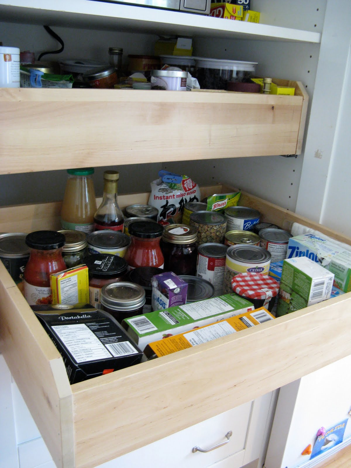 Customized Kitchen Pantry Ikea Hackers