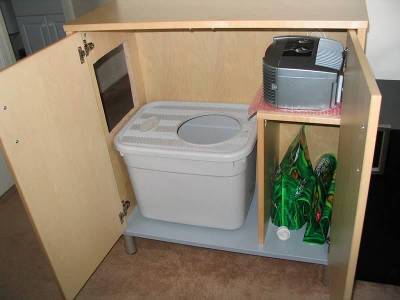 Effektively hiding a cat box IKEA Hackers IKEA Hackers