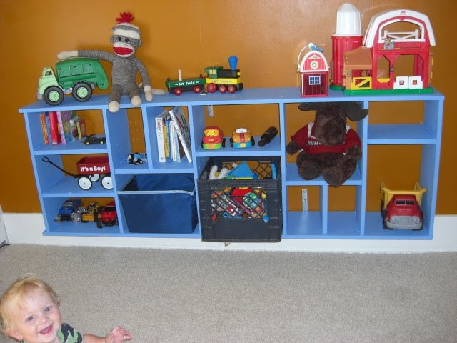 ikea bookcase toy storage