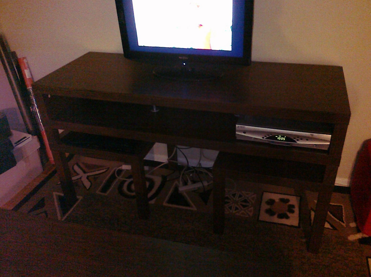 Lack sofa table as tv stand centerfieldbar hacka lack a mutant tv stand hackers geotapseo Choice Image