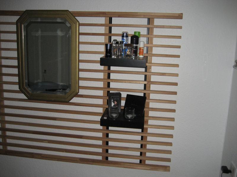 Ikea Mandal Headboard Mounting ~ Almost a Mandal Wall hack  IKEA Hackers  IKEA Hackers