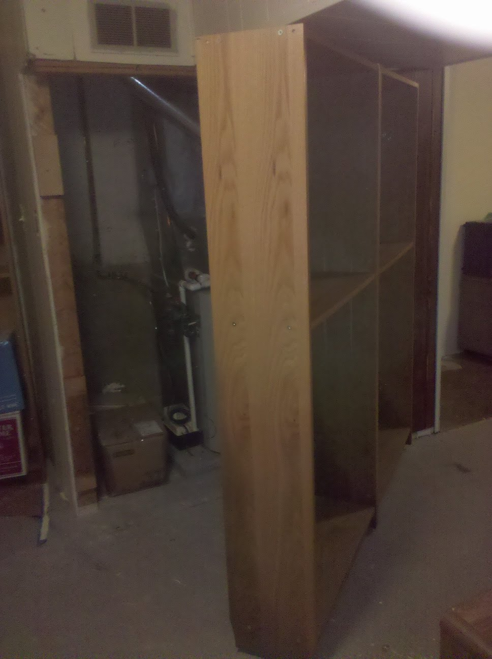 bookcase door hinge