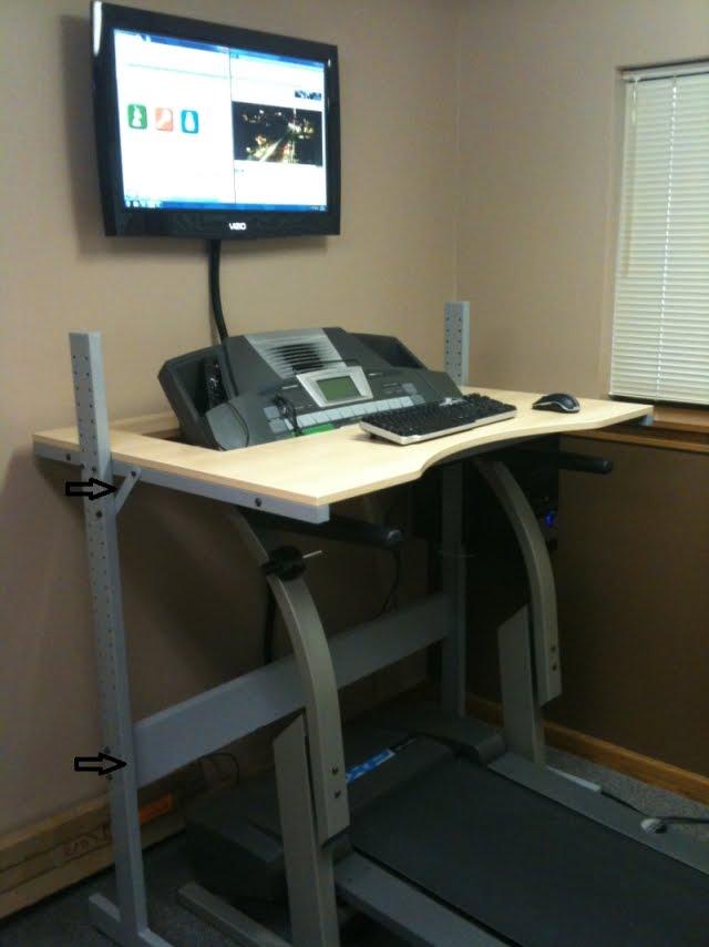 Jerker treadmill desk IKEA Hackers IKEA Hackers