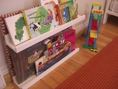 Toddler bookshelf
