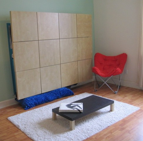 After Building Murphy Bed I Hacked The Leftover Legs IKEA - Building a murphy bed ikea