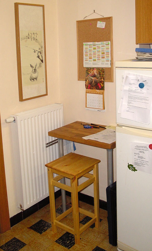 kitchen cart and dining table. this is perfect for the kitchen.