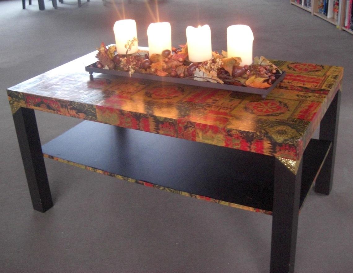 Декорировать стол своими руками фото