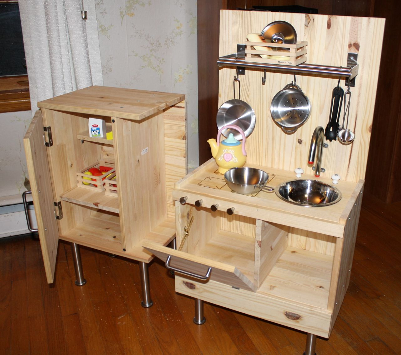Child S Play Kitchen Set Ikea Hackers